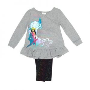 Disney Store Raya And The Last Dragon Top And Bottoms Set, Girls, Grey/Black – From ShopDisney