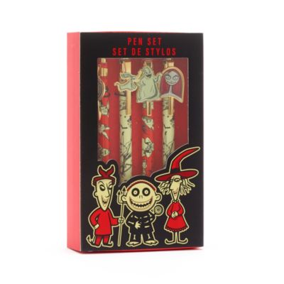 Disney Store The Nightmare Before Christmas Pens, Set of 4 - From shopDisney