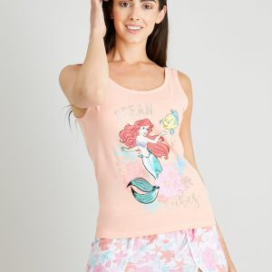 Disney The Little Mermaid Shortie Pyjamas – 4-6