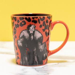 Disney Villains 101 Dalmatians Cruella De Vil Mug From Funko