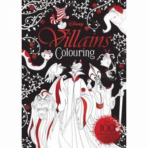 Disney Villains Colouring Book