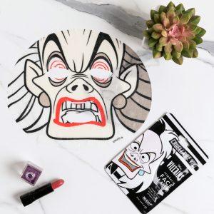 Disney Villains Cruella Sheet Face Mask From Mad Beauty