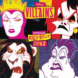Disney Villains Official Calendar 2022
