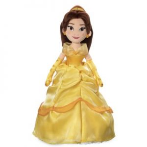Disney's Beauty And The Beast's Belle Soft Toy Doll, Girls, Yellow, Size: 46x12x9cm – From ShopDisney