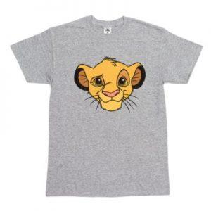 Disney's Simba Customisable T-Shirt, The Lion King, Boys, Grey – From ShopDisney