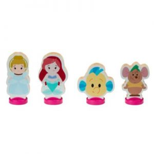 Disney's World Of Wood Cinderella And The Little Mermaid Wooden Toys – From ShopDisney