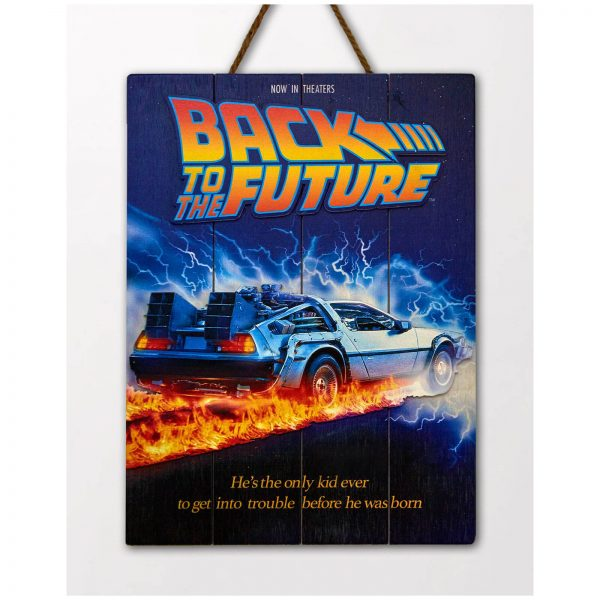 Doctor Collector Back to the Future WoodArts 3D Print