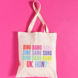 Drag Race Inspired UK Hun Tote Bag