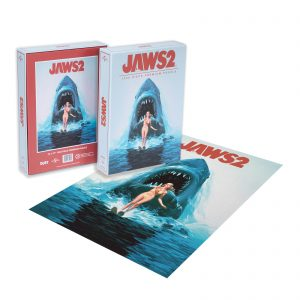 DUST! Jaws 2 Classic Movie Poster 1000pc Puzzle – Zavvi Exclusive