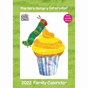 Eric Carle, The Very Hungry Caterpillar A3 Family Planner 2022