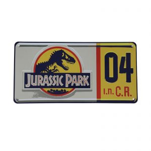 Fanattik Jurassic Park Replica License Plate