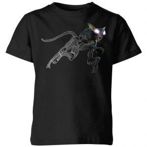 Fantastic Beasts Tribal Matagot Kids' T-Shirt – Black – 3-4 Years – Black