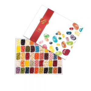Fifty Flavours Of Jelly Belly (600g) Gift Set By Moonpig – Delivery Available