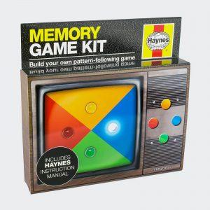 Franzis Haynes Build Your Own Memory Game Kit