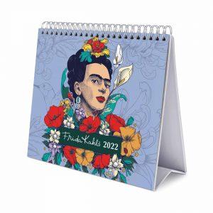Frida Kahlo Easel Desk Calendar 2022