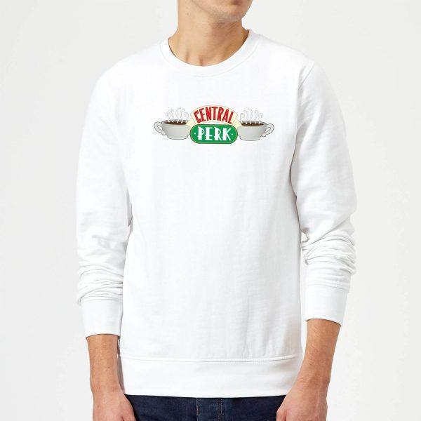 Friends Central Perk Sweatshirt - White - S - White