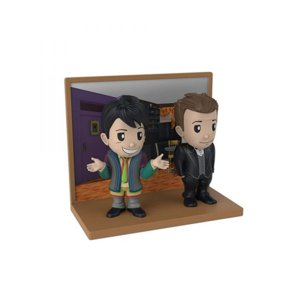 Friends Collectable Pack of 2 Joey and Chandler Figures