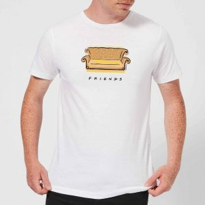 Friends Couch Men's T-Shirt – White – S – White
