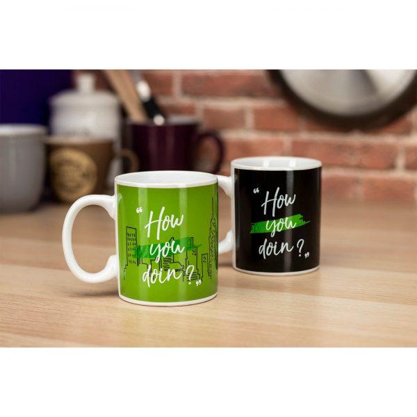 Friends How you Doin'? Heat Change Mug