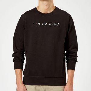 Friends Logo Contrast Sweatshirt – Black – S – Black