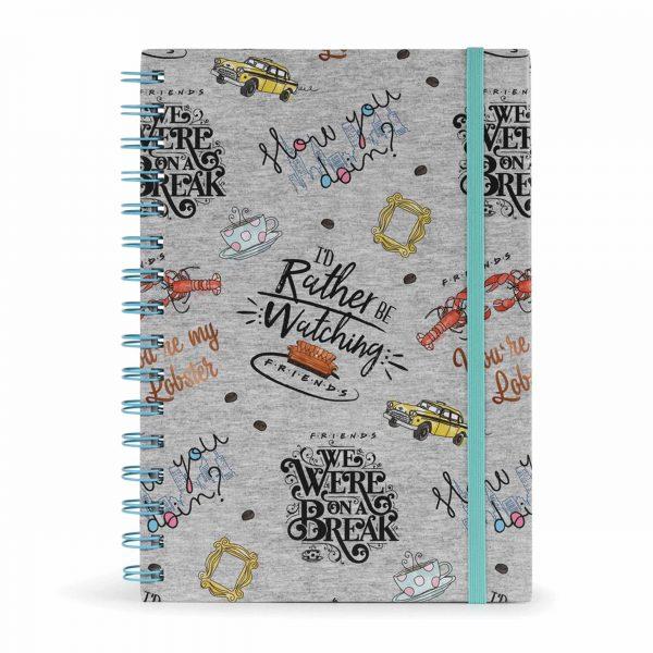 Friends, Marl A5 Notebook