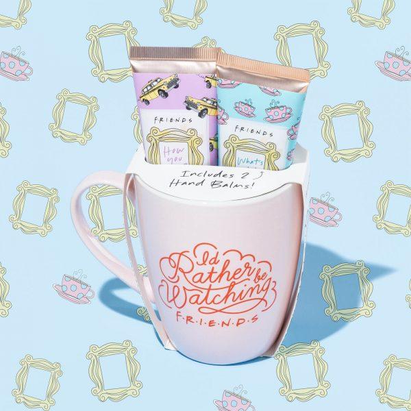 Friends Mug and Hand Cream Gift Set