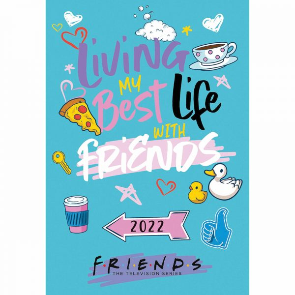 Friends Official A5 Diary 2022