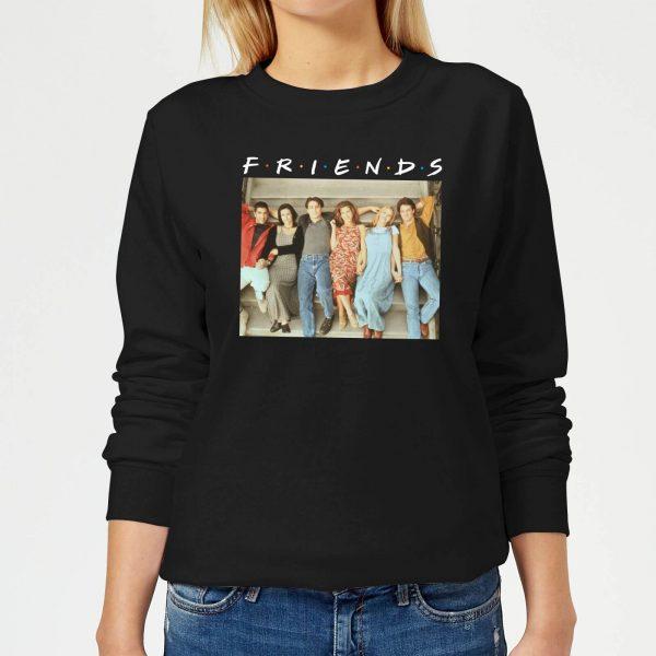 Friends Retro Character Shot Women's Sweatshirt - Black - S - Black