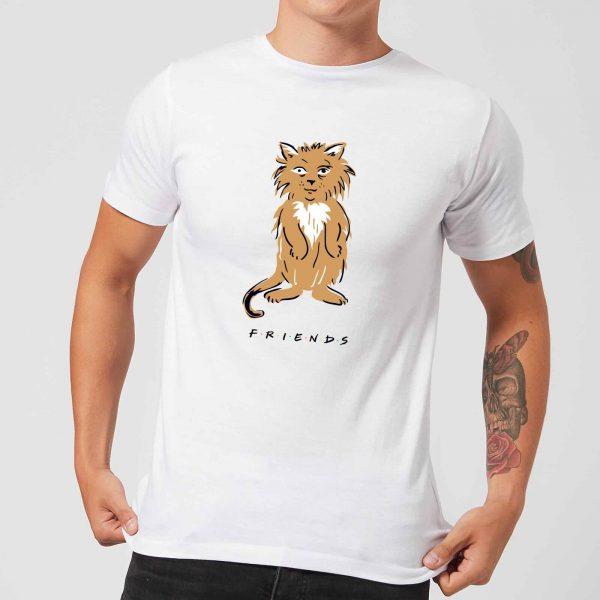 Friends Smelly Cat Men's T-Shirt - White - S