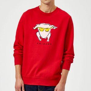 Friends Turkey Sweatshirt – Red – S