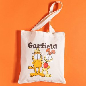 Garfield And Odie Tote Bag