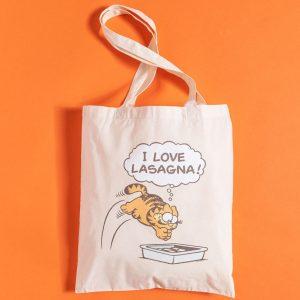 Garfield Lasagne Tote Bag