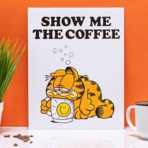 Garfield Show Me The Coffee 11″ X 14″ Art Print