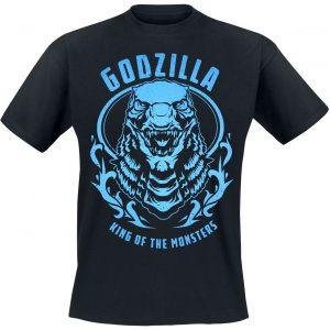 Godzilla Badge T-Shirt Black