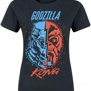 Godzilla Godzilla & King Kong T-Shirt Black