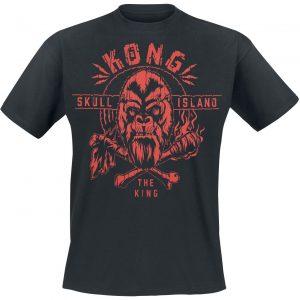 Godzilla King Kong – Skull Island – The King T-Shirt Black