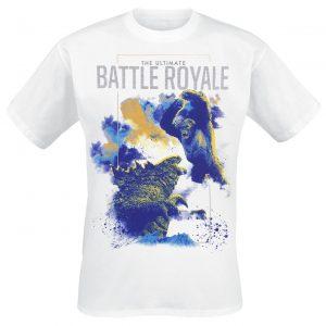 Godzilla The Ultimate Battle Royale T-Shirt White