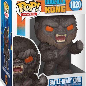 Godzilla Vs. Kong Battle-Ready Kong Vinyl Figure 1020 Funko Pop! Multicolor