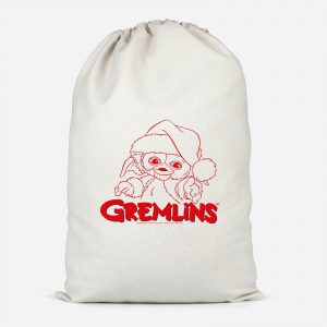 Gremlins Another Reason To Hate Gremlins Christmas Cotton Santa Sack – Small