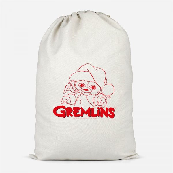 Gremlins Another Reason To Hate Gremlins Christmas Cotton Santa Sack - Small