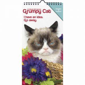 Grumpy Cat Slim Calendar 2022