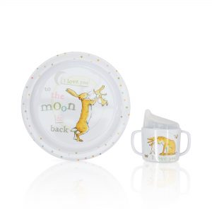 'Guess How Much I Love You' Baby's 1st Breakfast Set Gift By Moonpig – Delivery Available