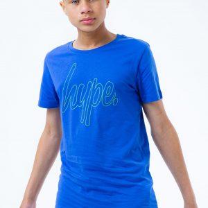 HYPE X NERF BLUE LOGO KIDS T-SHIRT