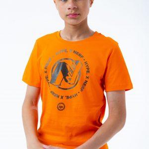 HYPE X NERF ORANGE LOGO KIDS T-SHIRT