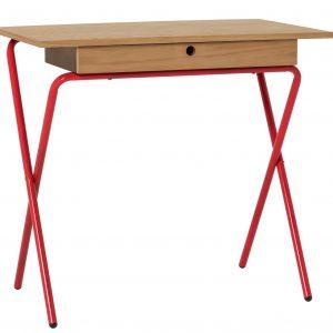 Habitat Kirby 1 Drawer Office Desk – Oak