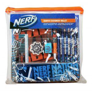 Hasbro Nerf Bumper Stationery Set
