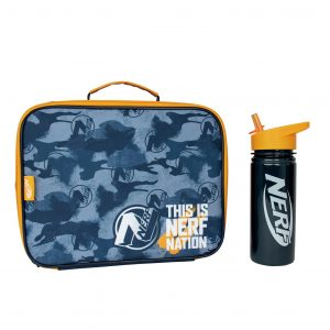 Hasbro Nerf Lunch Bag And Bottle – 500ml