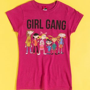 Hey Arnold Girl Gang Heliconia T-Shirt