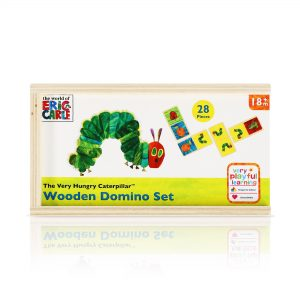 Hungry Caterpillar Wooden Dominoes Gift Set By Moonpig – Delivery Available
