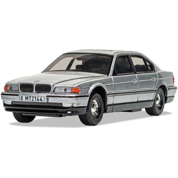 James Bond BMW 750i Tomorrow Never Dies Model Set - Scale 1:36